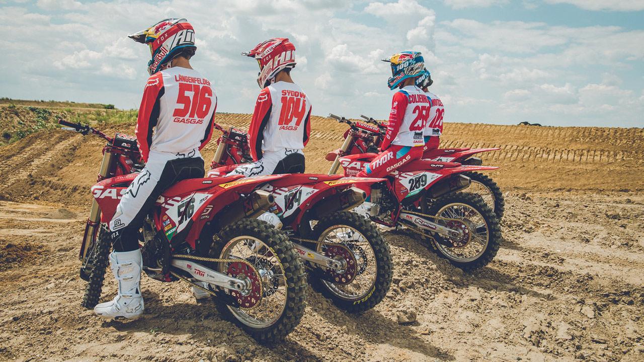 GASGAS muestra sus nuevas motos de cross oficiales