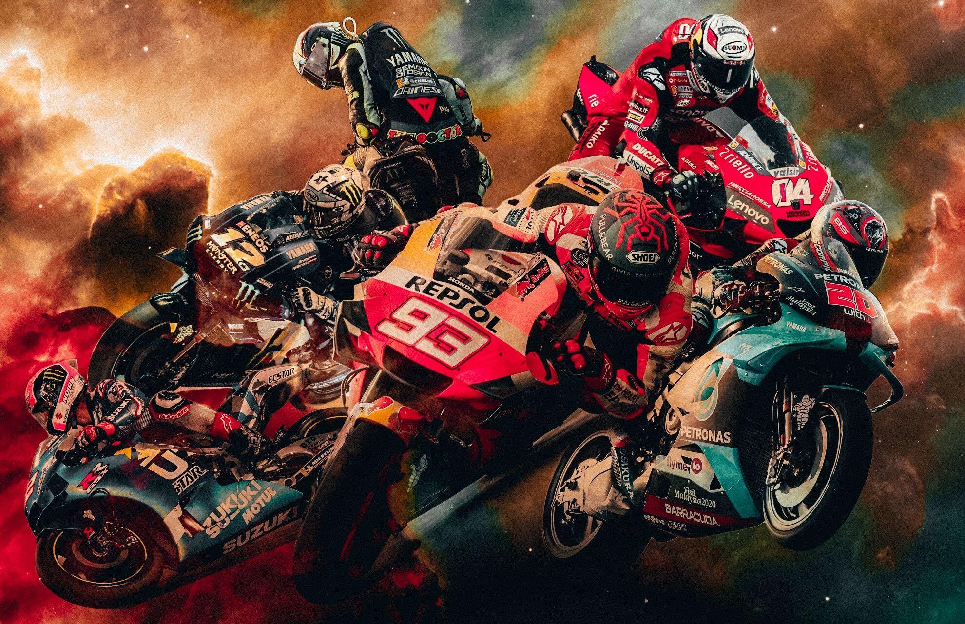 El sistema solar de MotoGP 2020