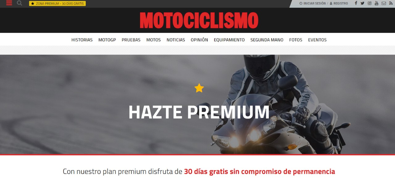 ¡Promoción! Hazte suscriptor PREMIUM y DESCARGA GRATIS el especial 20 Rutas imprescindibles en moto