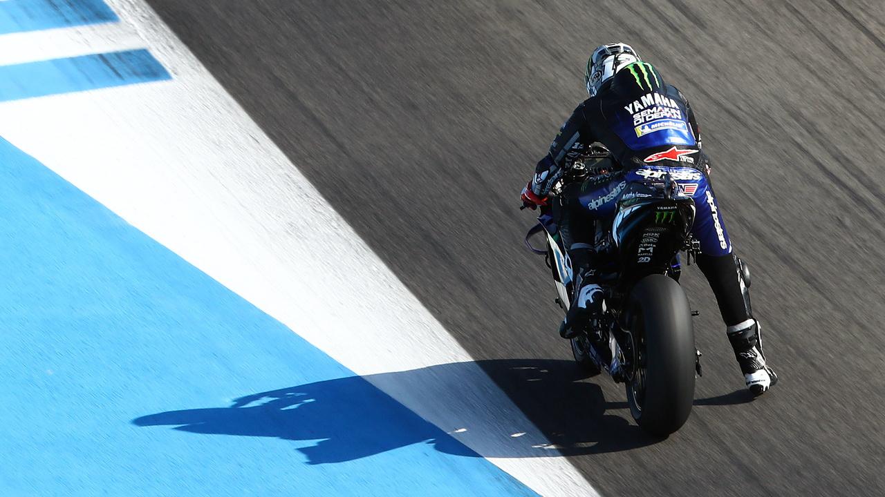 Viñales y Rossi mandan el viernes y Márquez descansa hasta el sábado