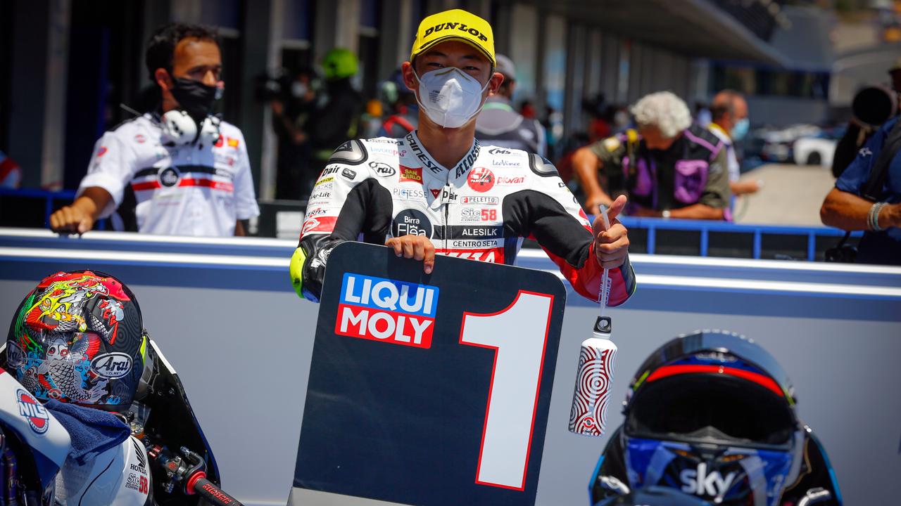 Tatsuki Suzuki es el rey de las poles en Moto3