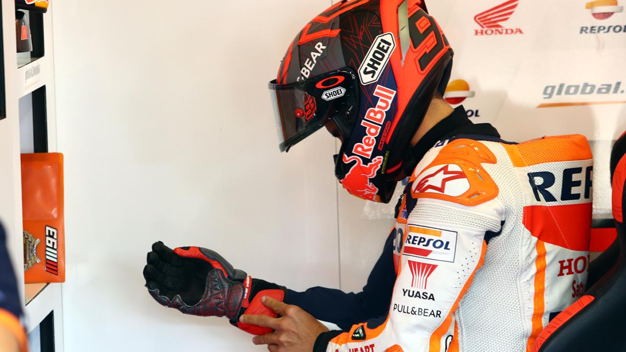 Marc Márquez no participará en el Gran Premio de Andalucía