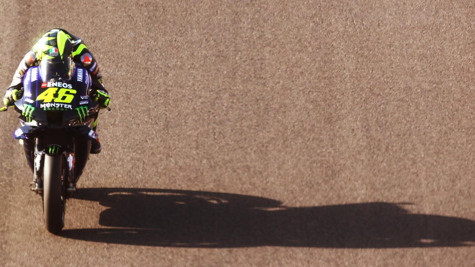 La cuarentena interminable de Valentino Rossi