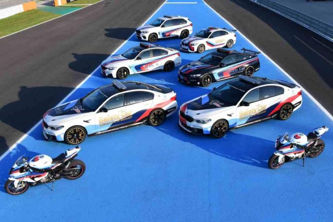Los BMW Safety Car en MotoGP. La saga poderosa que vela por la seguridad en los circuitos
