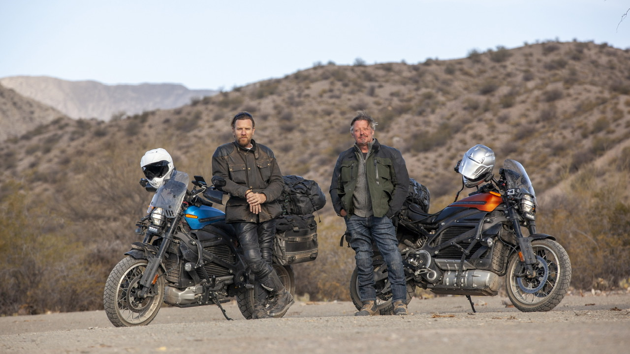 "¿Es posible viajar ya en motos eléctricas? Vuelven Ewan McGregor y Charley Boorman con ""Long Way Up"""