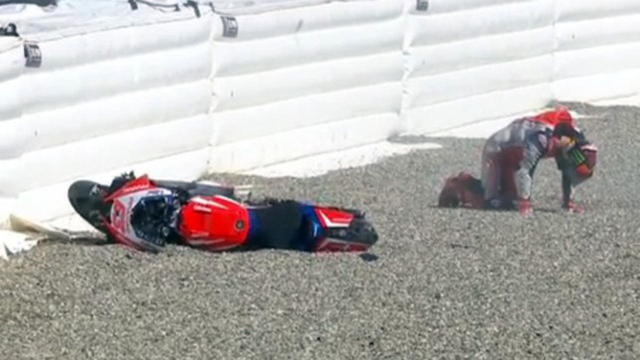 ¿Por qué hay tantas lesiones en MotoGP 2020?