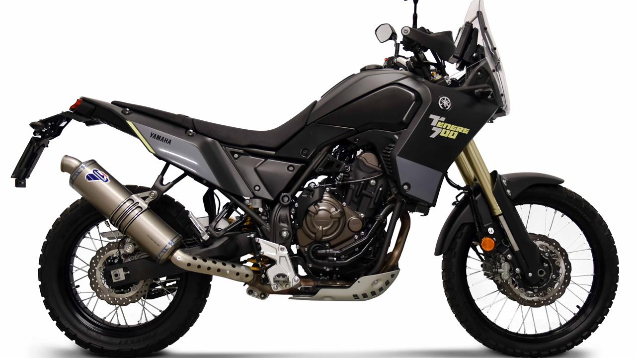 Suspensiones Öhlins y escape Termignoni para Yamaha Ténéré 700
