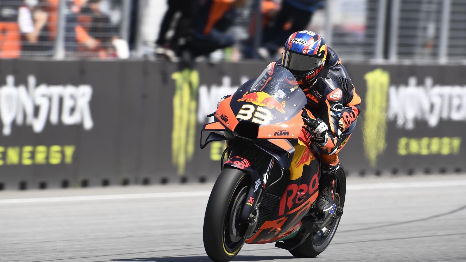 Brad Binder y KTM, un golpe de estado en MotoGP