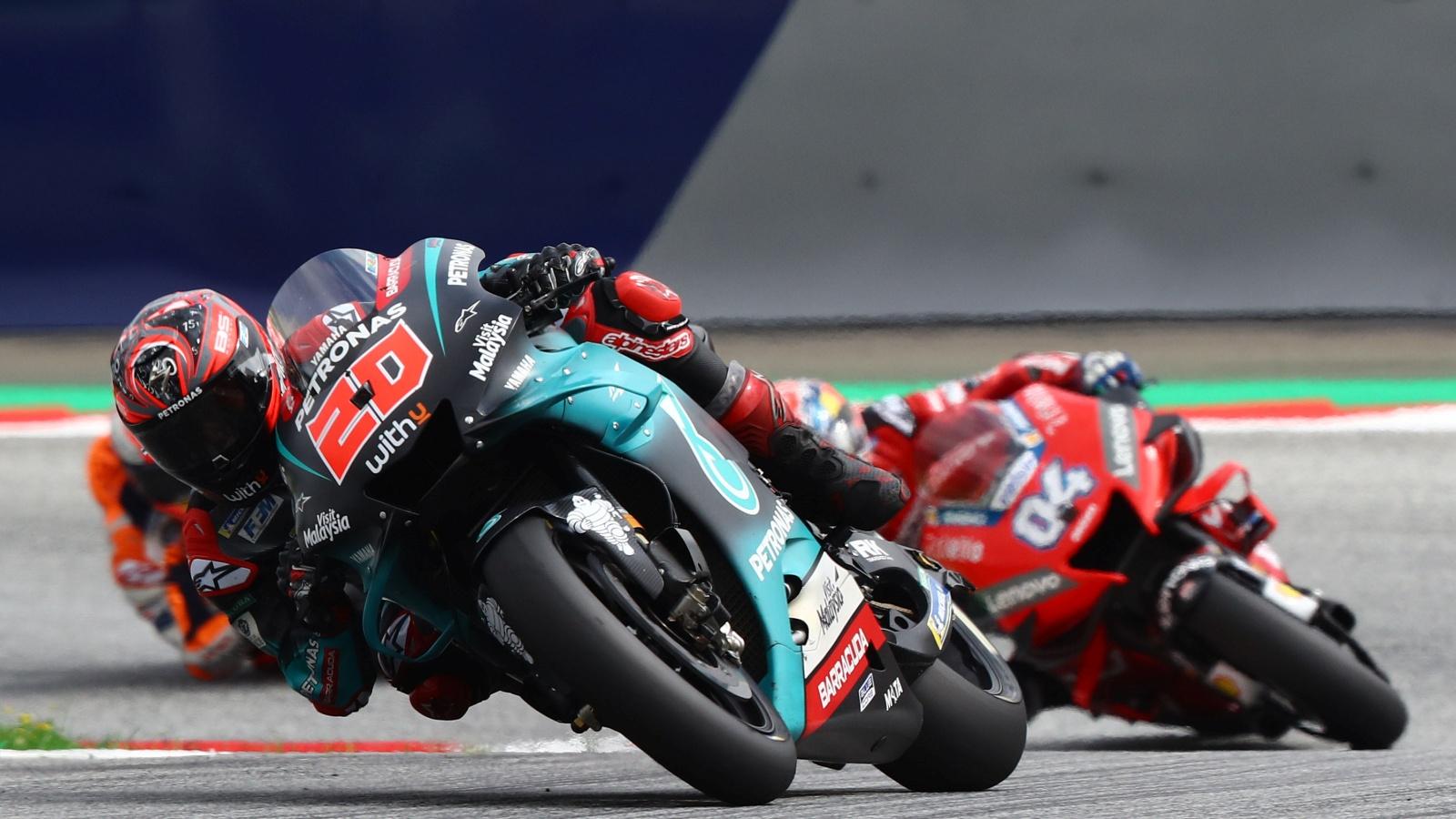 MotoGP Red Bull Ring 2020: Horarios GP Austria y dónde ver en TV MotoGP, Moto2 y Moto3