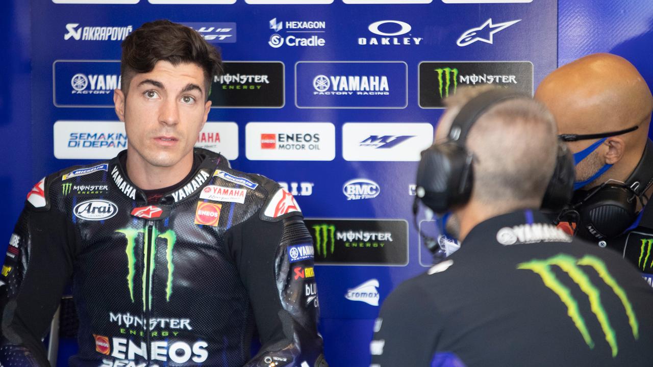 """Viñales tras dos errores en tres carreras: """"Tenemos que dejarnos aconsejar más por Michelin"""""""