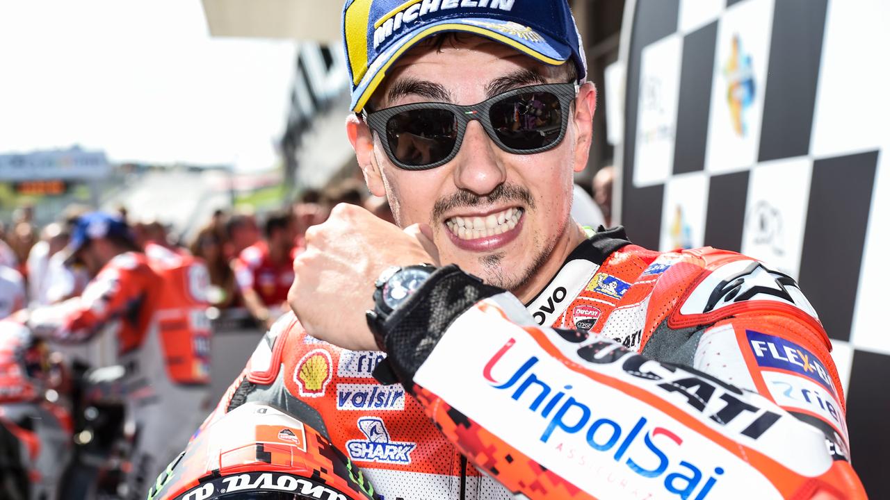 Jorge Lorenzo vuelve a la puja por Ducati para 2021