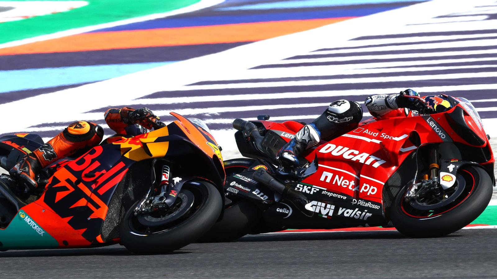 Ducati y KTM tienen por el mango la sartén de MotoGP