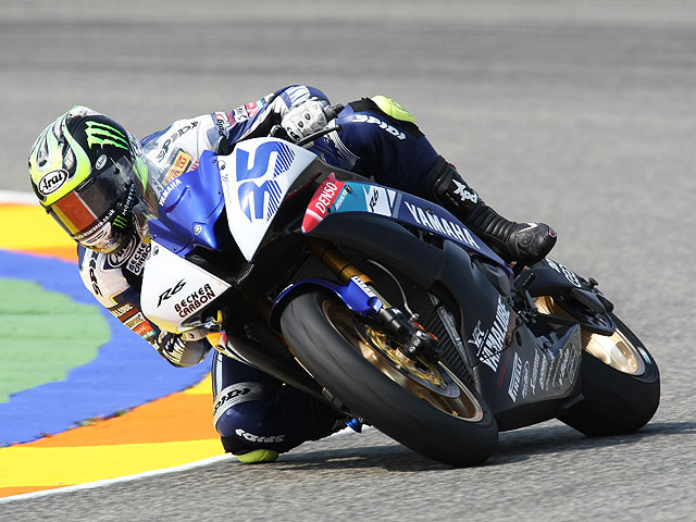 "Crutchlow (Yamaha) arrebata la pole a Lascorz (Kawasaki) ""in extremis"""