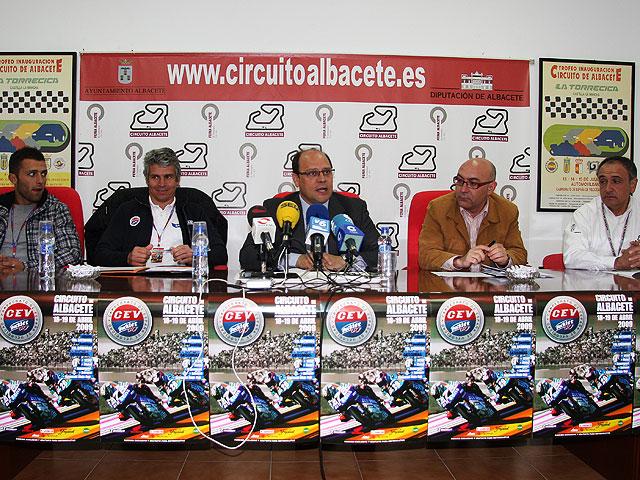 Presentación CEV Buckler 2009