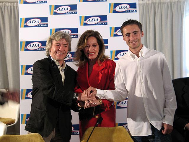 Ángel y Pablo Nieto con ADA