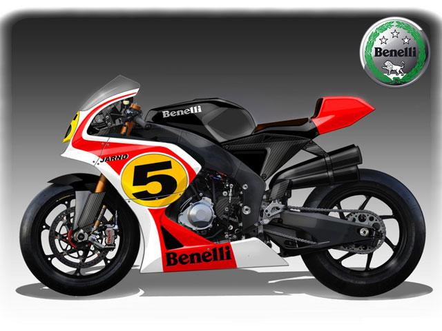 La Benelli de MotoGP