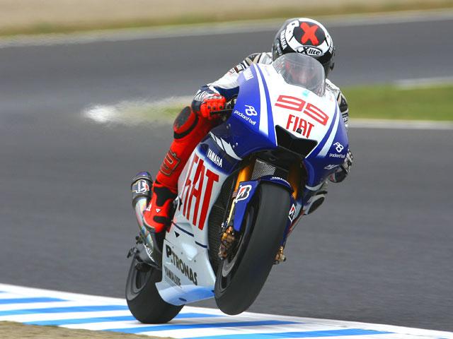 Lorenzo (Yamaha) clavó su bandera en el GP de Japón