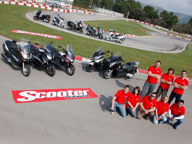 Master Scooter 125 en la revista Scootermania