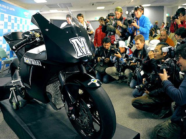 Moto2. Moriwaki MD600