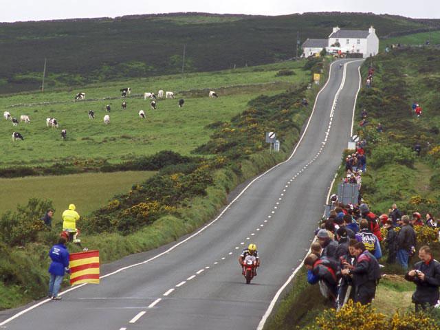 Rossi rodará en la Isla de Man