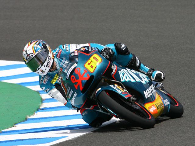 Julián Simón (Aprilia), pole en Jerez