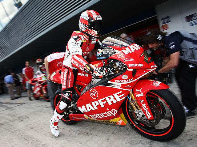 Bautista y Suzuki se reunieron en Jerez