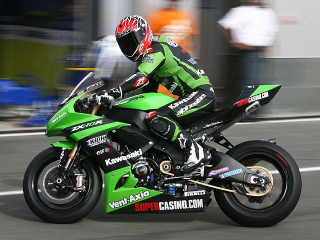 Broc Parkes (Kawasaki) está recuperado para Monza