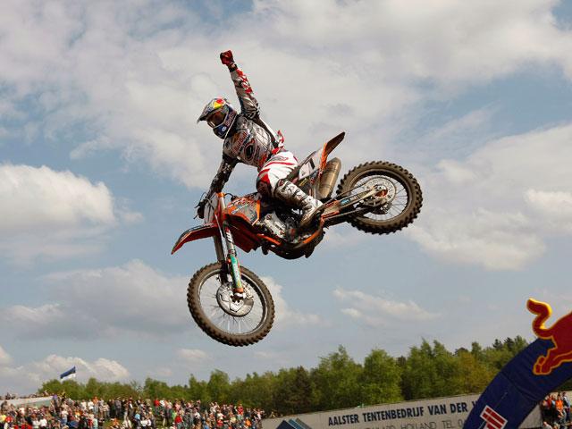 Jonathan Barragán, a por todas en el Mundial de Motocross