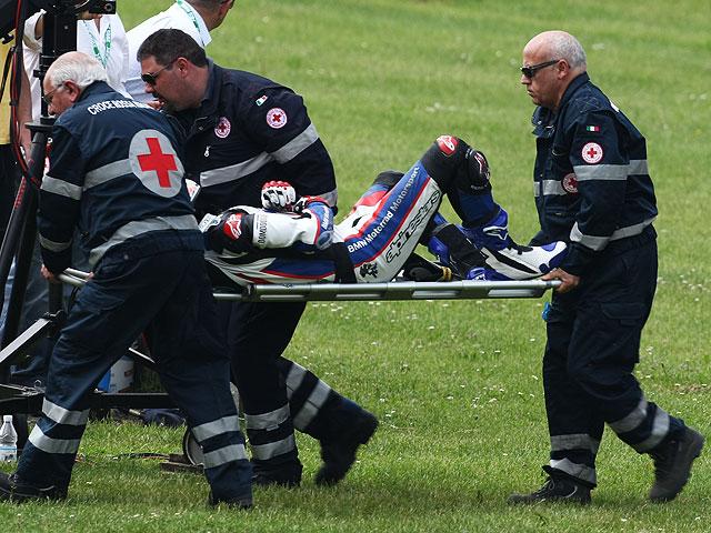 Troy Corser KO. Monza se cobra otra víctima