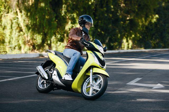 Prueba el Honda Scoopy SH 125i