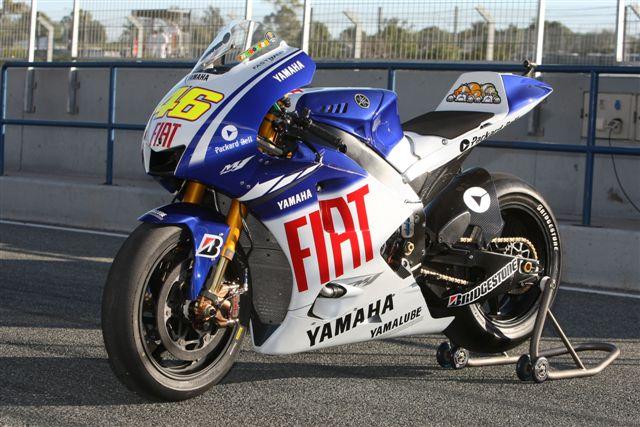 La moto de Rossi y Lorenzo: Yamaha YZR-M1