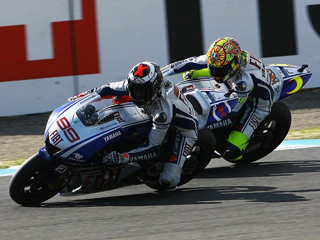 Rossi y Lorenzo, duelo en Mugello