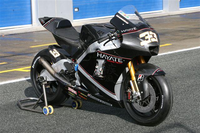 La moto de Melandri: Kawasaki ZX-RR