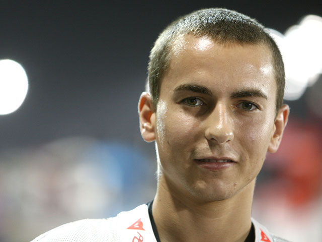 Lorenzo estará en la Champions para animar al Barça
