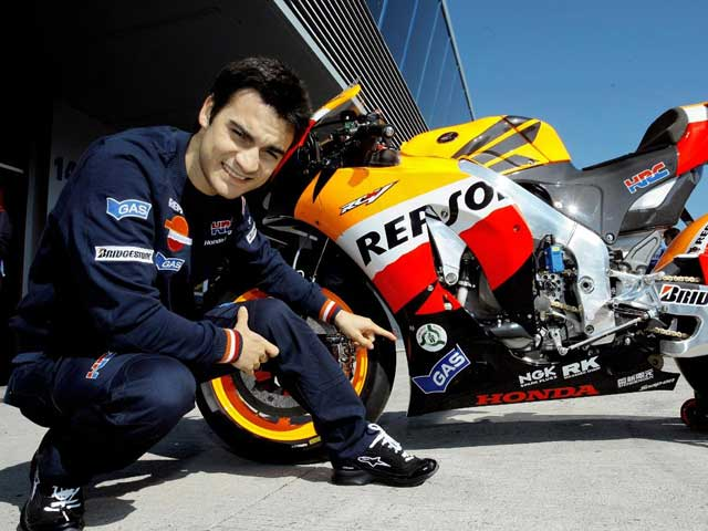 MotoGP. Dani Pedrosa aguantará el dolor en Montmeló