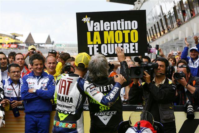 ¿Cómo celebrará Rossi su victoria número 100?