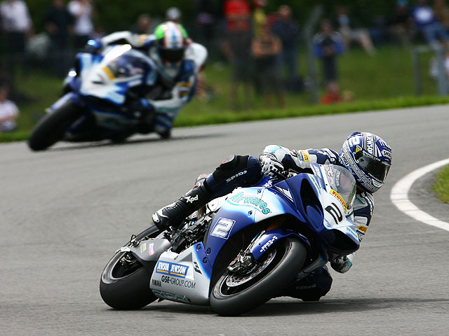 "Airwaves Yamaha, ""wild card"" en Donington Park"