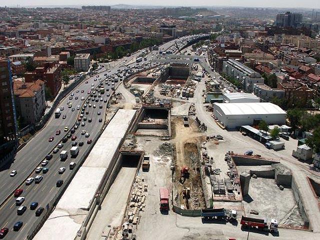 Las obras de la M-30 finalizarán en 6 meses