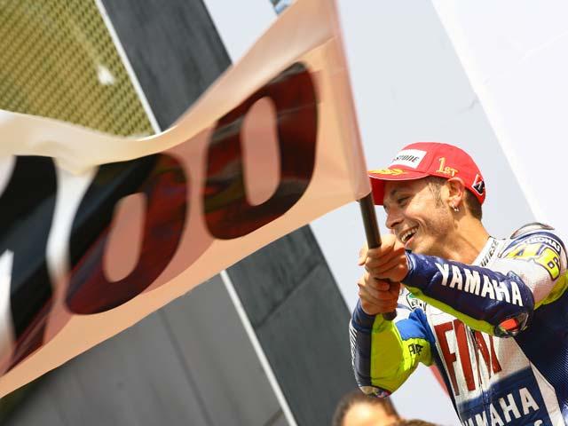 """Valentino Rossi: """"Es grande lograr 100 victorias en el Mundial de Motociclismo"""""""