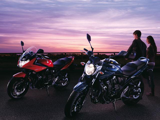 La Suzuki Bandit 2009 llega a España