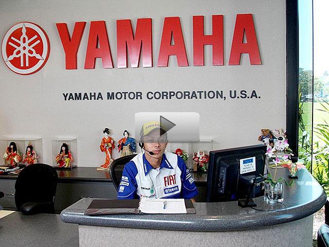 Vídeo: Un día en la oficina con los pilotos Yamaha de MotoGP