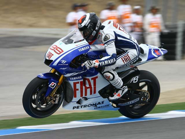 Jorge Lorenzo, sin problemas para el Gran Premio de Laguna Seca