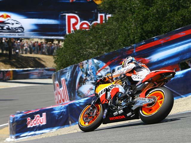 Dani Pedrosa hace historia en el Gran Premio de Laguna Seca