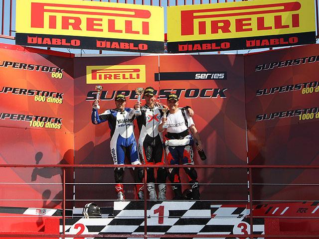 Pistoletazo de salida para las Pirelli Superstock Series