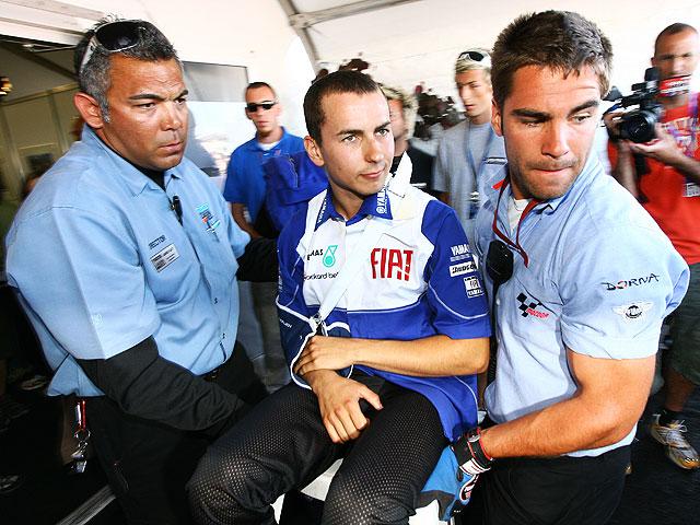 Jorge Lorenzo sigue lesionado