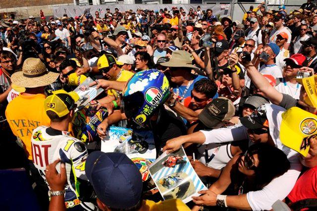 MotoGP. El ambiente del GP de Laguna Seca en fotos