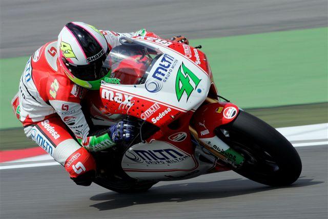 Espargaró volverá a correr en Alemania para el equipo Balatonring