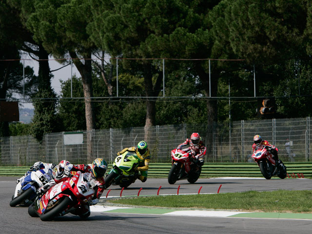 Tres días de test en Imola para los pilotos del Mundial de SBK