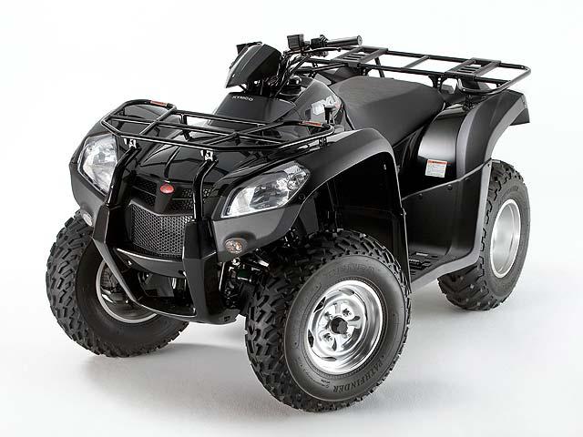 El KYMCO MXU 500 sale al mercado