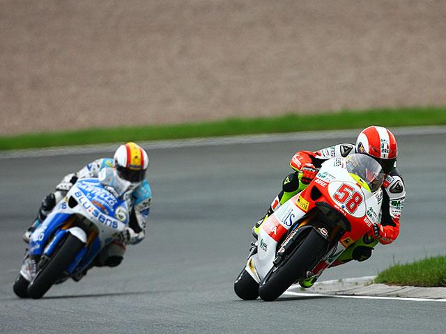 Simoncelli gana en Sachsenring, Debón y Bautista podio